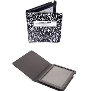Kate Spade KSNY Notes to Self Composition Notebook iPad Case